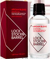 LS&B Argan Blend Shave Oil